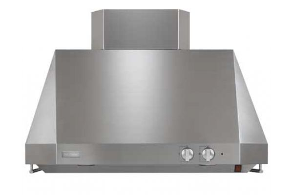 "Large image of Monogram 36"" Stainless Steel Professional Hood - ZV36TSFS"