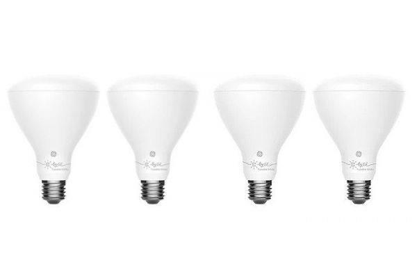 Large image of C By GE BR30 4-Pack Bluetooth Tuneable Smart Bulb - 93096607