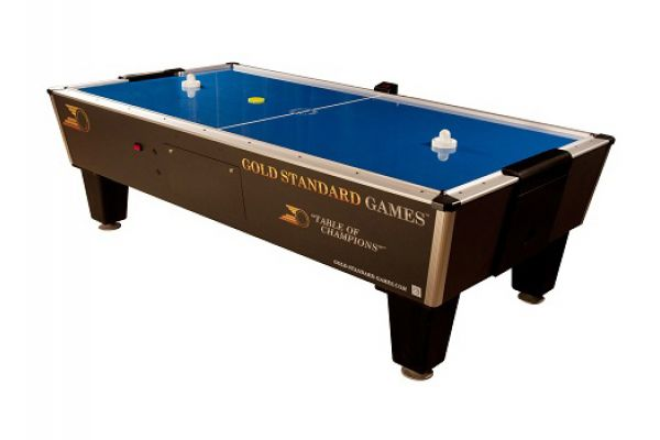 Gold Standard Games Tournament Pro Air Hockey Table - 8HGS-W01-TRS