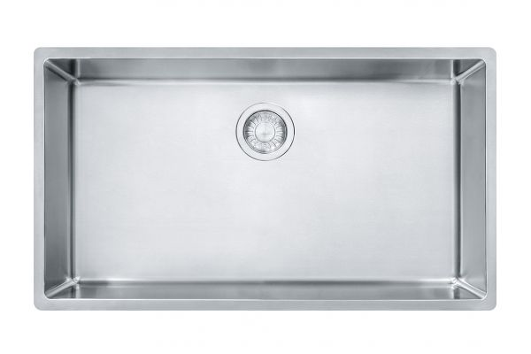 Large image of Franke Cube Stainless Steel Kitchen Sink - CUX11030