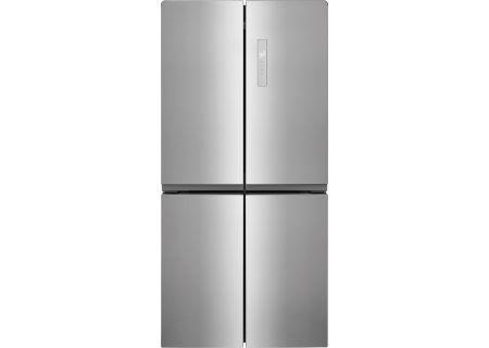 Frigidaire 17.4 Cu. Ft. Stainless Steel French Door 4-Door Refrigerator - FFBN1721TV