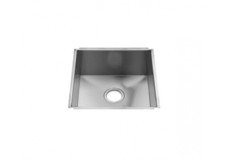 Julien UrbanEdge Stainless Steel Undermount Single Bowl Sink  - 003603