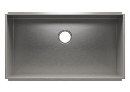 Julien UrbanEdge Stainless Steel Undermount Single Bowl Sink - 003633