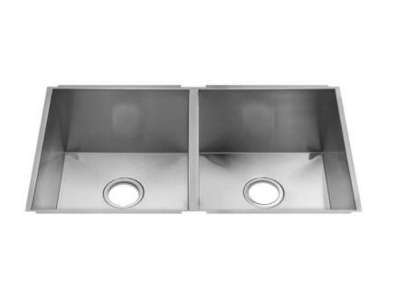 Julien UrbanEdge Stainless Steel Undermount Double Sink  - 003637