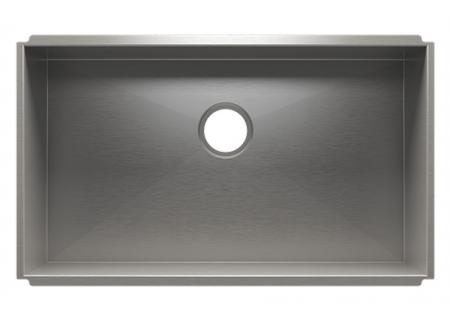 Julien UrbanEdge Stainless Steel Undermount Single Bowl Sink - 003667