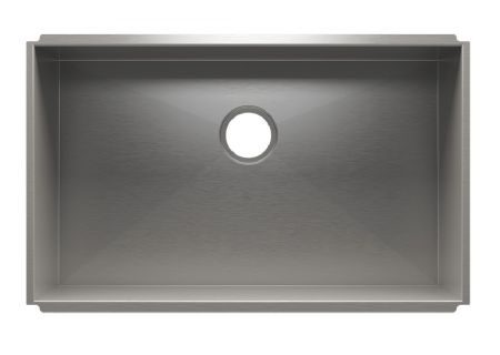 Julien UrbanEdge Collection Stainless Steel Single Bowl Sink - 003672