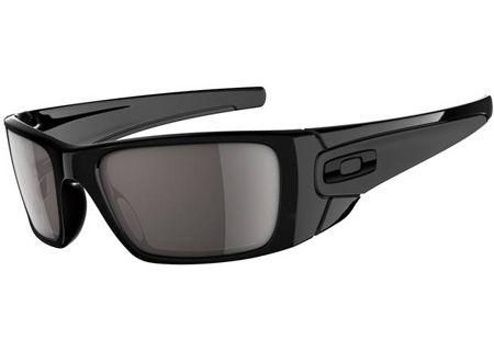 Oakley Fuel Cell Black Wrap Mens Sunglasses - OO9096-01