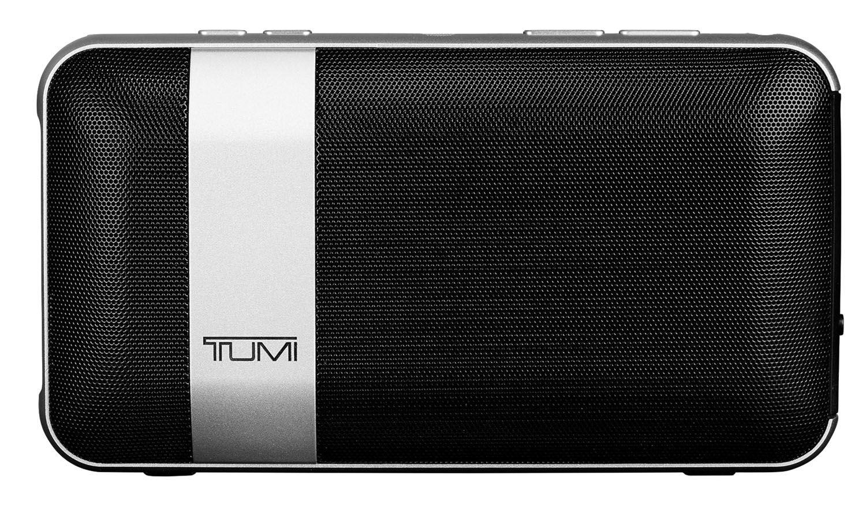 Tumi Black Portable Speaker With Power Bank 0114301DSLV #666666