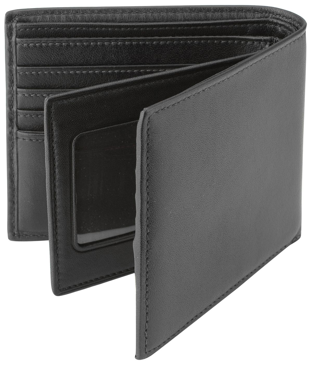 sports shoes eeafa e45e4 Tumi Black Center Flip ID Passcase Wallet