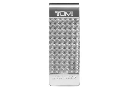 Tumi Chambers Silver Ballistic Etched Money Clip  - 12602-SILVER