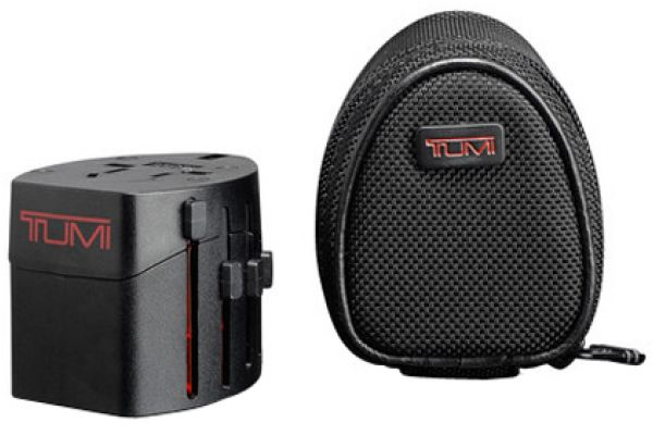 Large image of TUMI Electric Adapter With Black Case - 14385