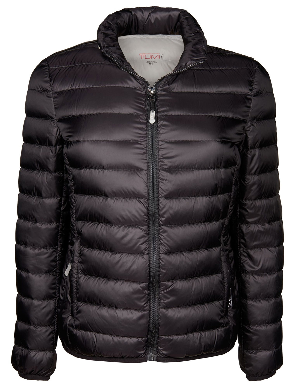 Tumi Pax Clairmont Packable Womens Jacket 15817 Black S