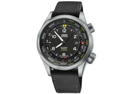 Oris Big Crown ProPilot Altimeter with Feet Scale Black And Stainless Steel Mens Watch - 01 733 7705 4134-07 5 23 15FC