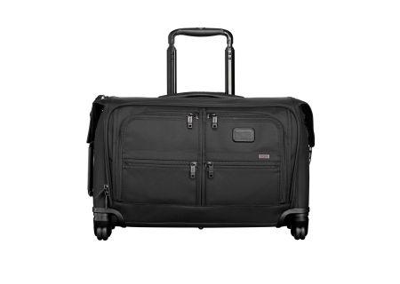 Tumi Alpha Black Carry-On 4 Wheeled Garment Bag  - 22038 - Black