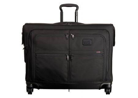 Tumi Alpha 2 Four Wheeled Medium Trip Garment Bag - 22635 - BLACK