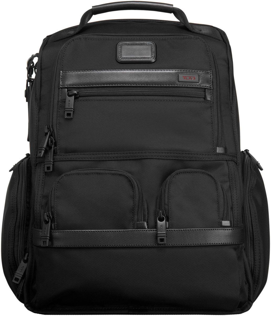 Tumi Black Alpha 2 Laptop Brief Pack - 026173 BLACK