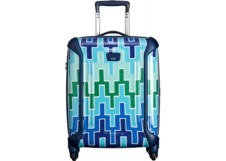Tumi - 28001 BLUE CHEVRON - Carry-On Luggage