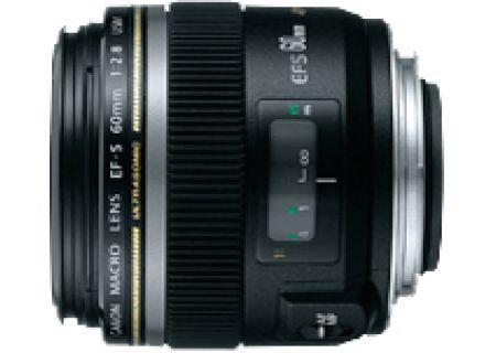 Canon EF-S 60mm f/2.8 USM Macro Camera Lens - 0284B002