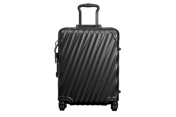 Tumi 19 Degree Aluminum Matte Black Continental Carry-On - 36861MD2