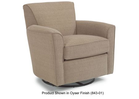 Flexsteel Kingman Antler Fabric Swivel Glider - 036C-13-376-70