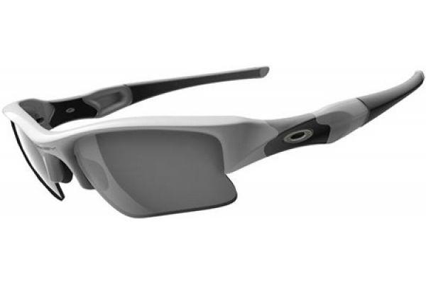 Oakley Flak Jacket Semi-Rimless XLJ White Unisex Sunglasses - 03-917