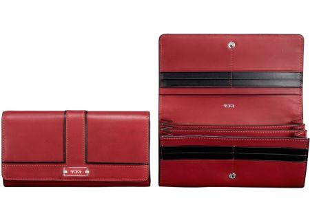 Tumi - 41101 SANGRIA - Womens Wallets