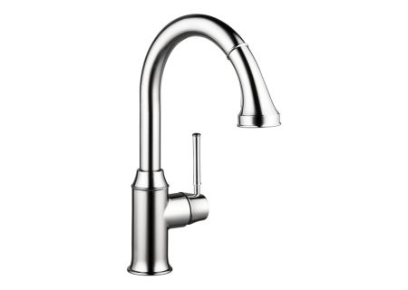 Hansgrohe Talis C 2-Spray Chrome HighArc Kitchen Pull-Down Faucet  - 04215000
