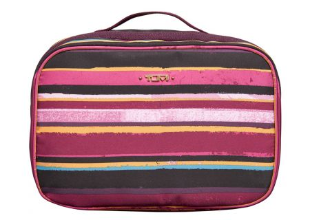 Tumi - 481846 - PLUM STRIPE - Toiletry & Makeup Bags