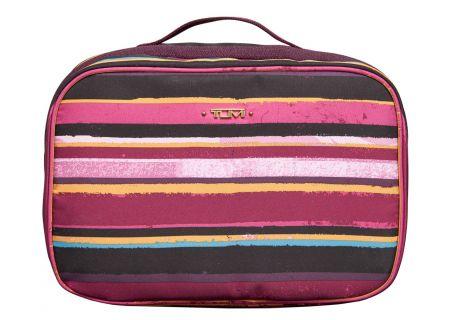 Tumi - 481846 - PLUM STRIPE - Toiletry & Makeup Bags