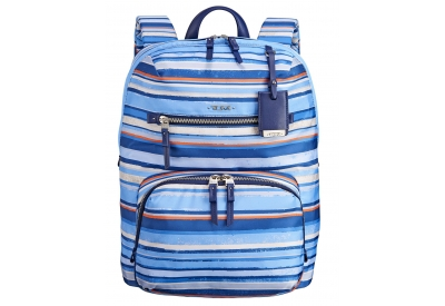Tumi - 484758-MOROCCAN BLUE STRIPE - Backpacks