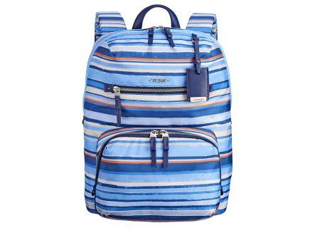 Tumi - 484758-MOROCCAN BLUE STRIPE - Backpacks