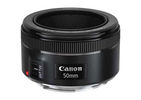 Canon EF 50mm f/1.8 STM Full Frame Camera Lens - 0570C002