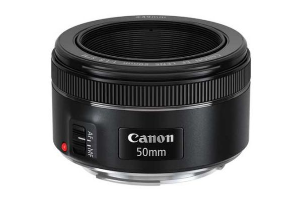 Large image of Canon EF 50mm f/1.8 STM Full Frame Camera Lens - 0570C002
