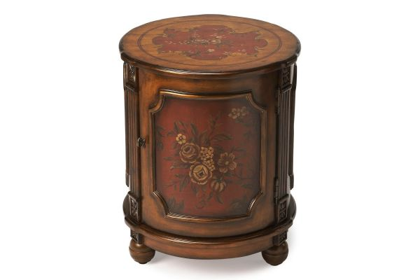 Large image of Butler Specialty Company Thurmond Red Hand Paint Table - 0584065