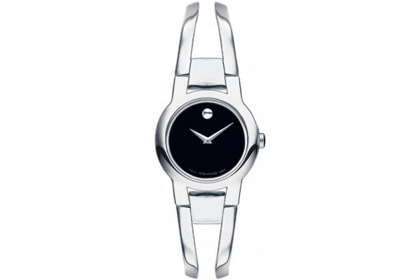 Movado Amorosa Stainless Steel Womens Watch  - 0604759