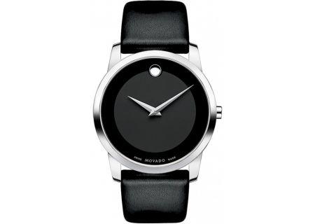Movado Museum Black Mens Watch  - 0606502