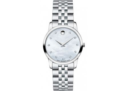 Movado Museum Stainless Steel Womens Watch  - 0606612