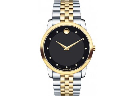 Movado Museum Classic 40mm Two-Toned Mens Watch  - 0606879