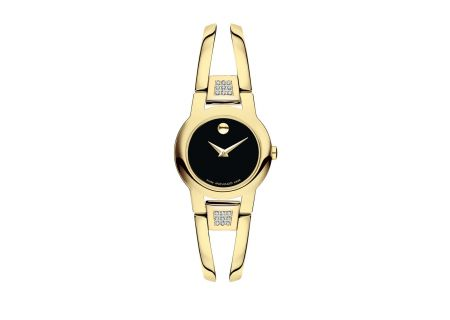 Movado Amorosa Yellow Gold Womens Watch - 0606895