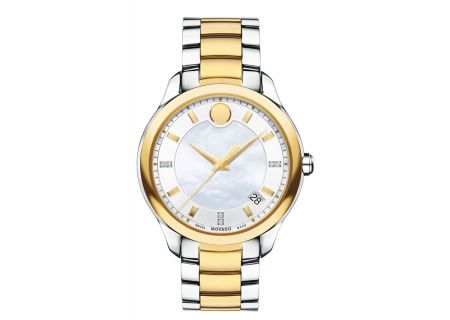 Movado Bellina Two-Tone Stainless Steel Womens Watch - 0606979