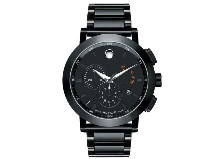 Movado Black Museum Sport Mens Watch - 0607001