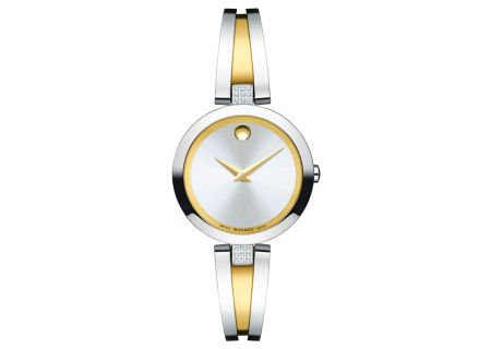Movado Aleena Two-Toned Womens Watch - 0607159