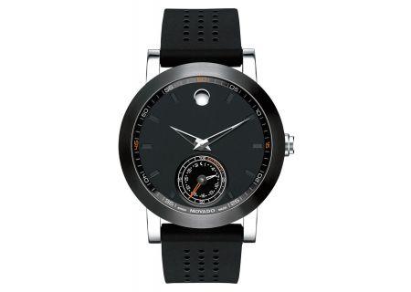Movado Museum Sport Black Motion Mens Smartwatch - 0660003