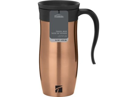 Trudeau Champagne Stainless Steel Endure 16oz Travel Mug - 08712405