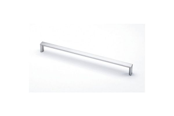 Large image of Miele Stainless Steel Square Slimline Door Handle - 09225620
