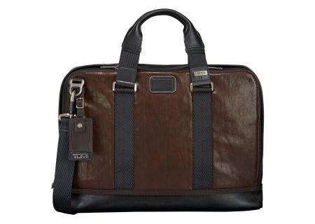 Tumi - 92390-DARK BROWN - Briefcases