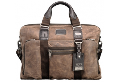 Tumi - 092611DH2 BROWN - Briefcases