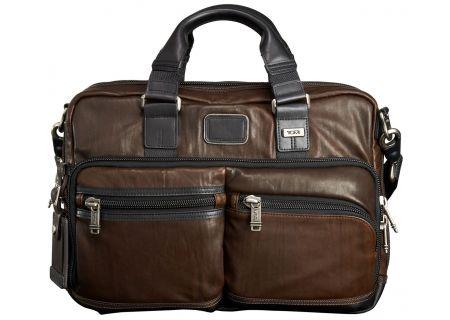Tumi - 92640 - DARK BROWN - Briefcases