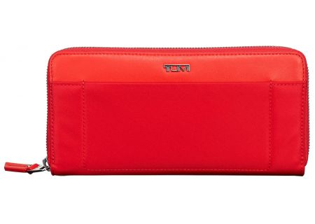 Tumi Voyageur Hot Pink Zip-Around Continental - 093900HPK