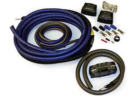 Kicker - 09PKD4 - Car Audio Cables & Connections